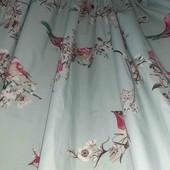 Красивенные шторы на подкладке, 2шт, 165*135