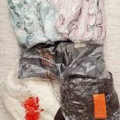 2 блузки в клетку+ юбка+ туника+ пиджак одним лотом в упаковке