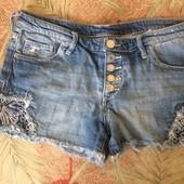Шорты джинсовые, р. S. Denim&Denim. состояние отличное
