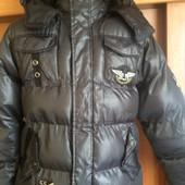 Куртка, еврозима, размер 12 лет 152 см, Powerboarding by C&A.. состояние отличное