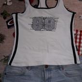 Подростковые шорты +майка размер 10 см.замеры .сост.отл