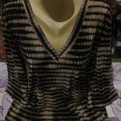 Эксклюзивная чёрная плисе стречь блузка новая. Bonmarche.3xl,4xl,5xl. Лотов много
