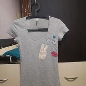 Классная, трикотажная футболка Only p. S