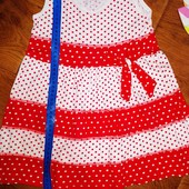 Платье лето р.104-110