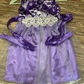 Нарядное платье на принцессу 122-128