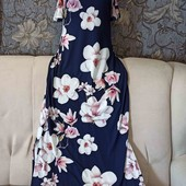 Платье макси в цветочный принт, Quiz, p. M