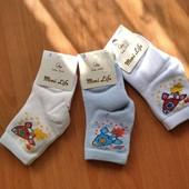 Шикарные мягкие хлопковые носочки на мальчика 3-4 года