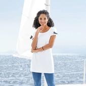 Классная удлинённая футболка, туника Esmara Германия размер евро L (44/46)