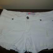 Короткі шорти рванки стрейч, розмір М!