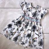 Стоп )лёгкое и красивое!❤ Фирменное коттоновое платье для девочки,4-5 лет❤ Много лотов!