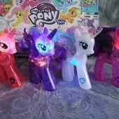 Пони My Little Pony 4вида, светятся