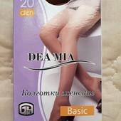 ♡ Колготки Dea Mia Basic 20 Den бронза, на выбор размер 3,4