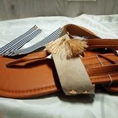 Blue Motion Летние сандалии с сьемным верхом + сменный вариант верха 37р 25см