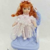 Кукла фарфоровая кукла мини 8 см