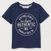 ❤ Детская футболка H&M❤4-6л.❤22512