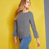 Стильная , оригинальная элегантная блузка из крепа от Tchibo германия размер 38 евро=44