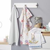Большое, кухонное, хлопковое полотенце от Tcm Tchibo, Германия! раз.50*70 см