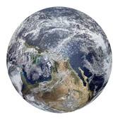 Пазлы круглые Земля