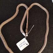 Шикарная массивная цепочка панцирное плетение 0,8*56 см