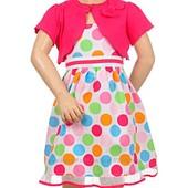Красивые платья из США, 100% хлопок, размер 2 года