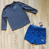 Шикарный комплект фирменный реглан и шорты мальчику 1-2 лет. Сотни лотов.
