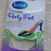 Гелевые подушечки Scholl для задников обуви