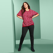 ☘ Красива стильна блуза від Tchibo (Німеччина), р .: 54-56 (48/50 євро)
