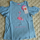 Футболка, блуза с ярким принтом и пайетками от Cool club by Smyk, размер 140 см