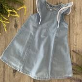 Платье для девочки от 3 месяцев (ориентироваться на замеры). В хорошем состоянии.