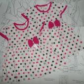 Платье р.74 хлопок,