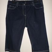 Стрейчевые удобные джинсовые шорты сост новых,верх на резинке,46 евр.