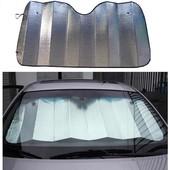 Шторка солнцезащитная автомобильная на лобовое стекло
