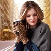 ☘ Теплі і м'які рукавички від Tchibo (Німеччина), розмір: 7,5