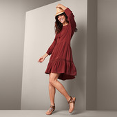 Комфортное платье миди с легким плетением на летние дни от Tchibo(германия) размер 44 евро