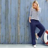 Удобные легкие брюки на резинке в стиле casual от Tchibo(германия) размер 38 евро=44