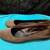 Полностью кожаные балетки n.d.c., разм. 37,5 (24 см внутри). Сост. хорошее!