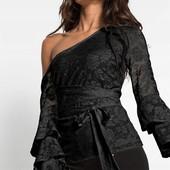 Шикарная вечерняя блуза пр-во Турция, размер XS S
