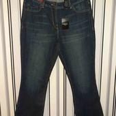 Нові джинси Next Crop flare,розмір12(Пот -39-43;Поб 47-52)