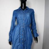 Качество! Стильное натуральное платье/рубашка от Denim Co, в новом состоянии