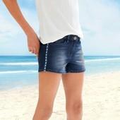 Бомбезні джинсові шорти на дівчинку підлітка, розміри158- підійде на дорослий ХS'