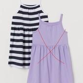 H&M_Только одно полосатое платье_2-4г_Н(10-330-1-86_008)