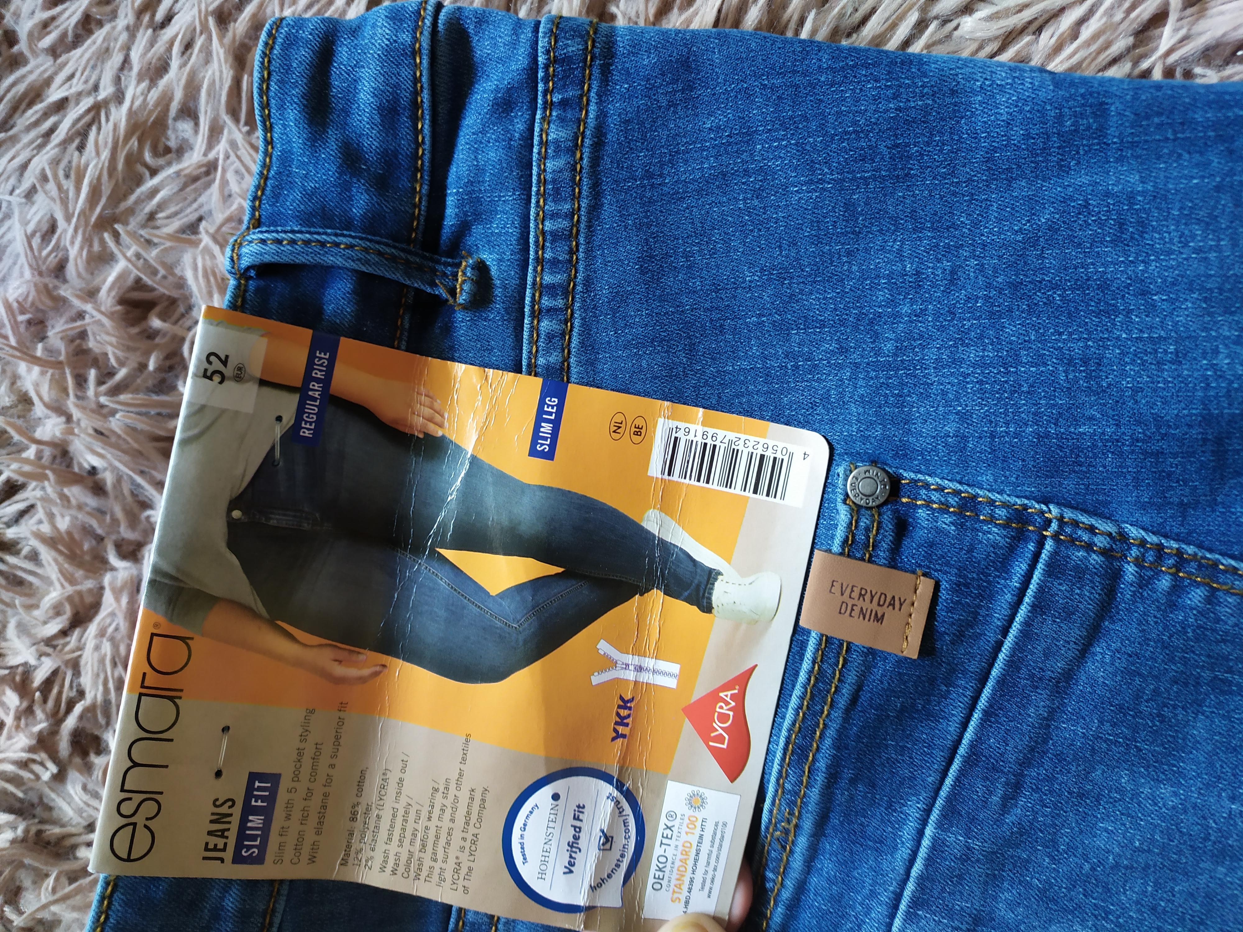 RR204.стильные джинсы батал , от Esmara.