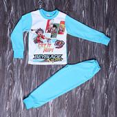 Пижама мальчику размер 92-98 бейблейд