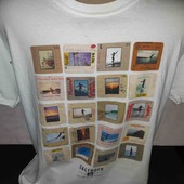 Классная футболка с интересным принтом!