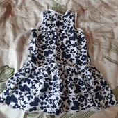 платье на малышку 9/12 месяцев
