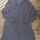 Бомбезне плаття-рубашка 16р