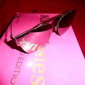 Солнцезащитные очки Katrin Jones, серая зеркальная линза, читайте