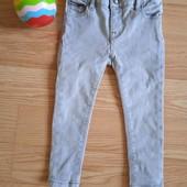 Крутые джинсы-скини Tommy Hilfiger на 1-2,5 года