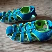 Дорогие фирменные (Lurchi -Германия) летние кроссовки/босоножки. По стельке 22 см.