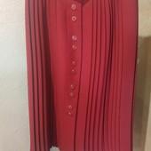 Шикарная юбка плисеровка на пышные формы